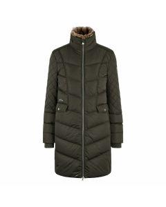 Padded long jacket Como