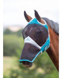 Shires vliegenmasker met neus en uitsparing voor de oren