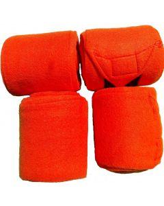QHP Fleece bandage 4 meter - set van 4 stuks