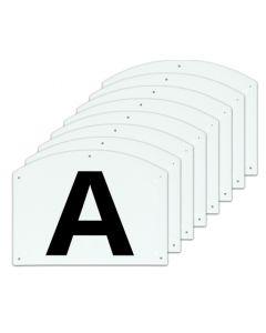 Dressage letters ABCEFHKM